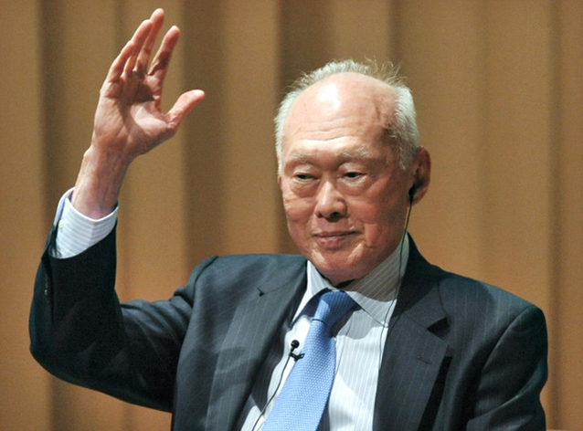 Goodbye Mr Lee Kuan Yew