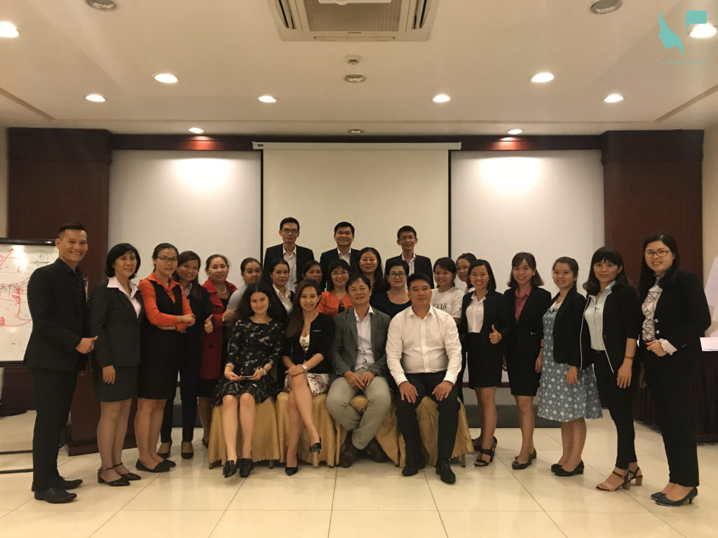 "[Vietnam] ""Everyone can sell"" training course for Prudential (05/2018)"