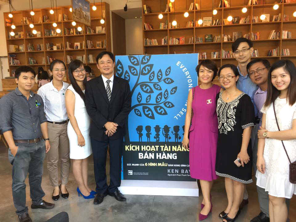Everyone Can Sell – Book Launch in Vietnam